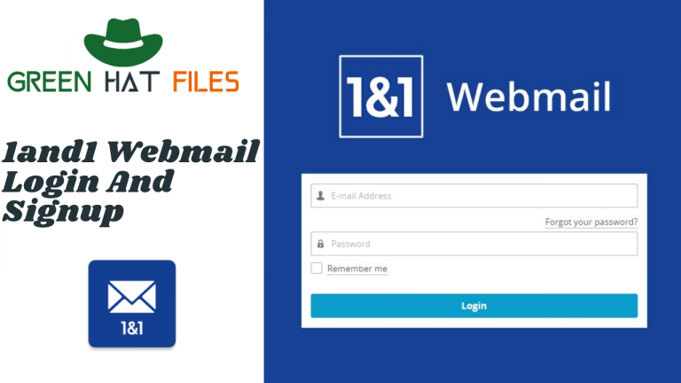 1and1 webmail login and signup