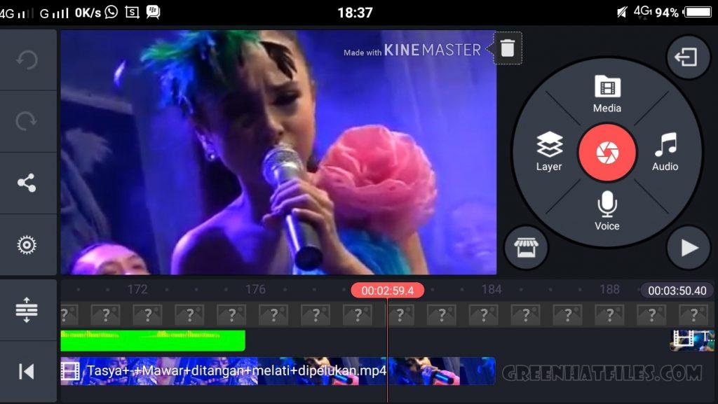 green kinemaster pro apk full unlocked free download