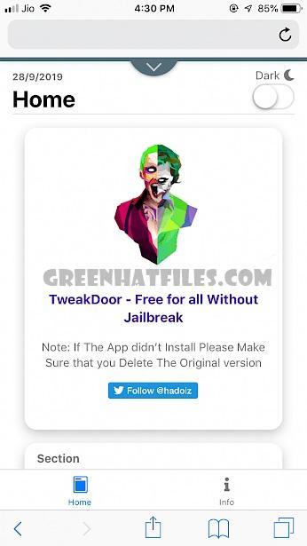 Tweakdoor Apk Download