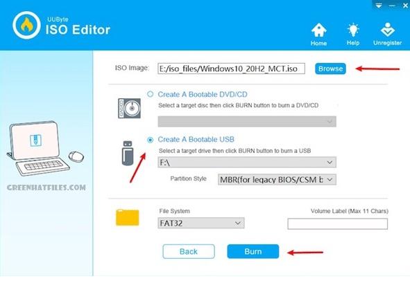 UUByte ISO Editor, Tools to Make Bootable USB Drive