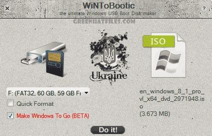 Tools to Make Bootable USB Drive, WinToBootic