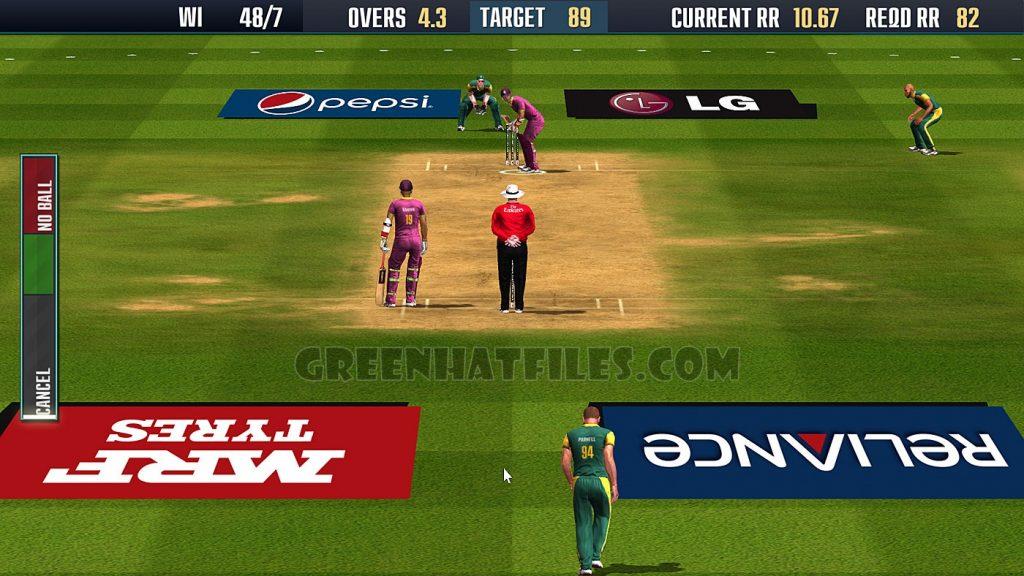 EA Sports Cricket game
