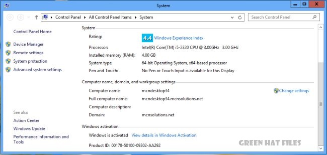 Activating Windows 8 Without the use Of Any Brief