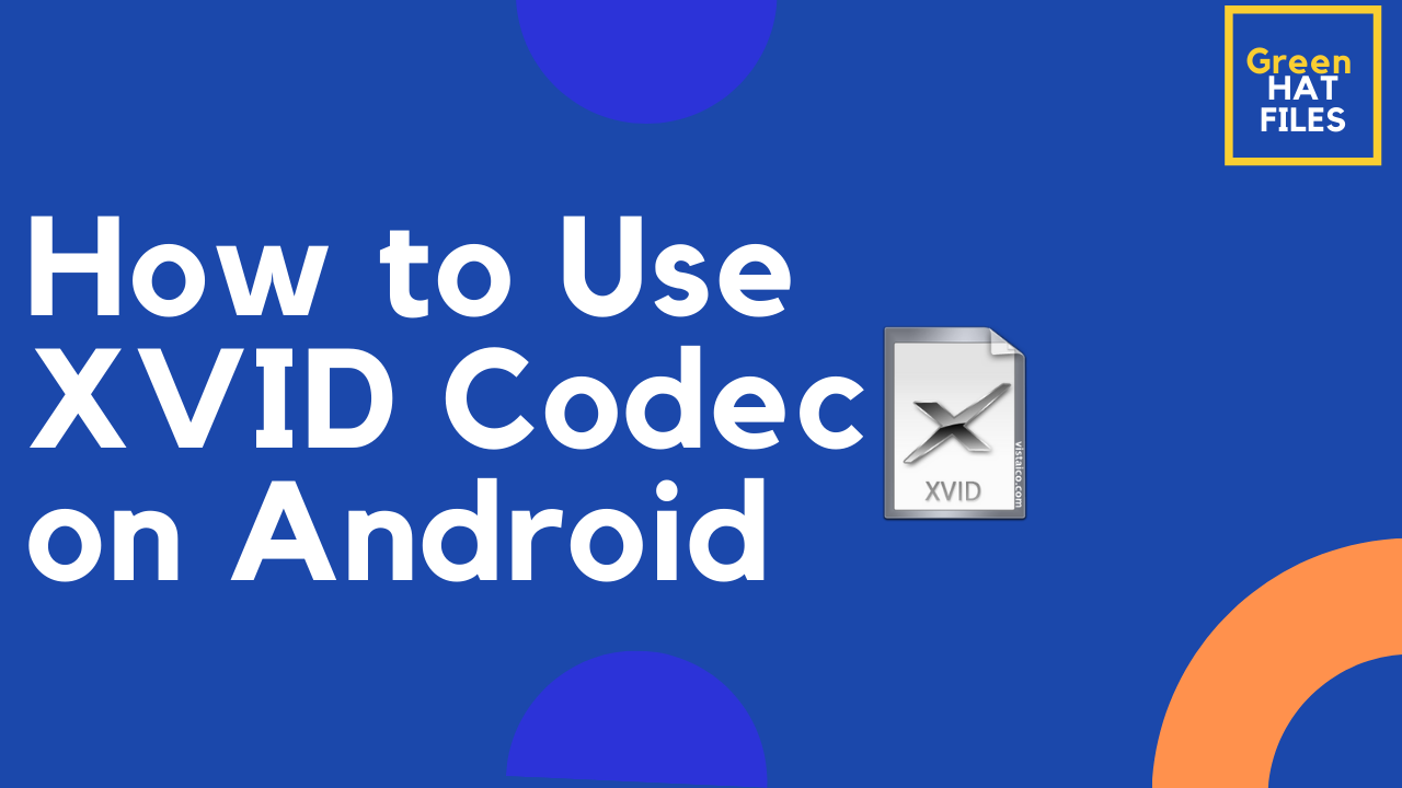 how to use xvid codec on android