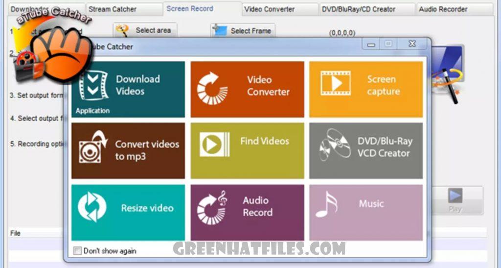 atube Catcher Download   greenhatfiles