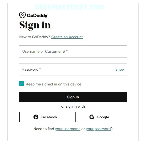 GoDaddy Email webmail Login