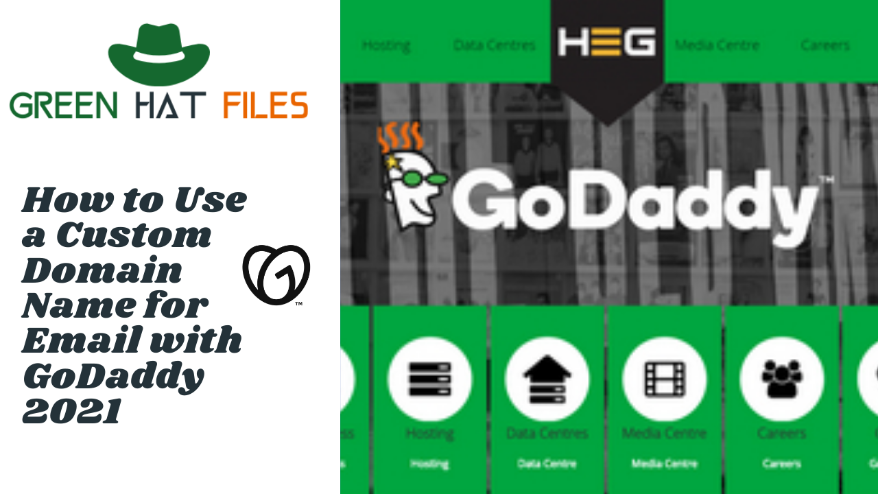 How to Use a Custom Domain Name for Email with GoDaddy 2021